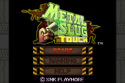 Metal slug touch 1.001