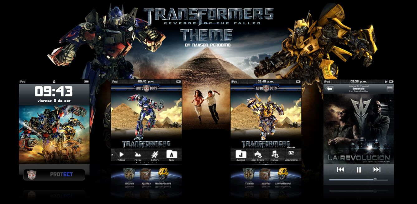 Theme: Transformers 2 Autobots NP 1.0 - 2