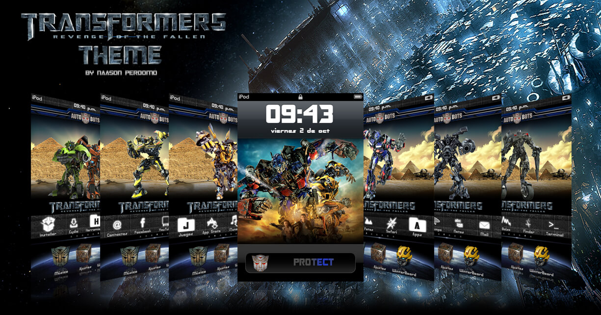 Theme: Transformers 2 Autobots NP 1.0 - 3