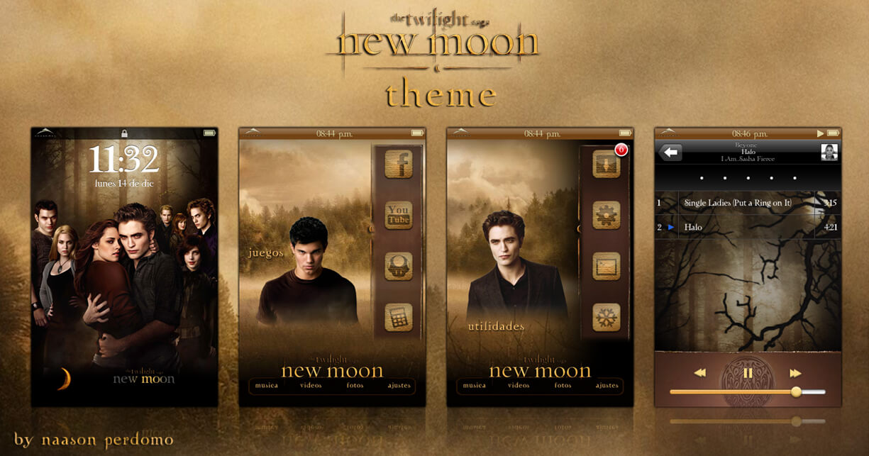 Theme: Twilight Saga New Moon NP 1.0 - 1