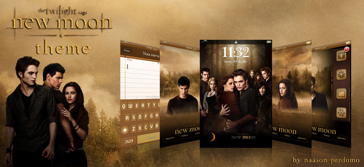 Theme: Twilight Saga New Moon NP 1.0 - 2