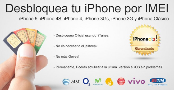 Unlock Desbloquea tu iPhone