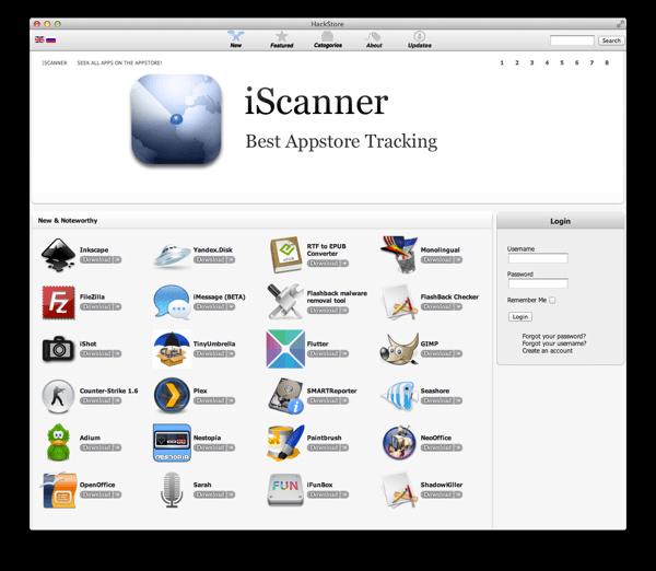 captura 2012 04 25 a las 08 17 04 Lançado a HackStore para OS X.