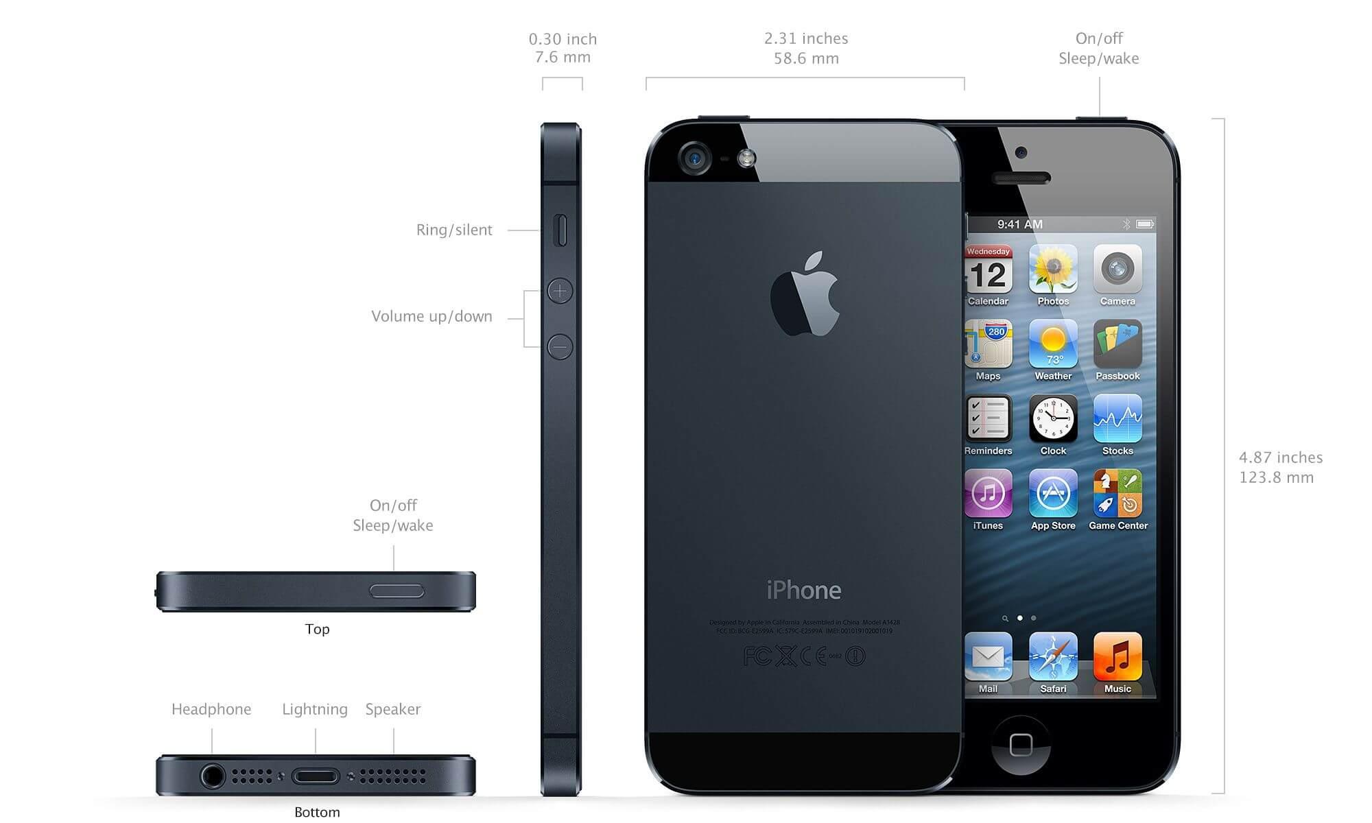 Iphone 5 especificaciones caracter sticas y precio - Nc state iphone 5 wallpaper ...