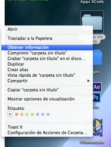 Cambiar imagen de carpetas en OS X • iPhoneate - iNeate