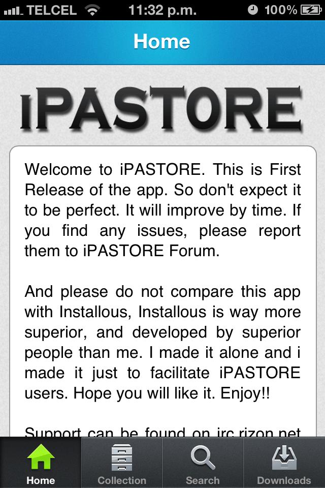 iPASTORE 1.0-01