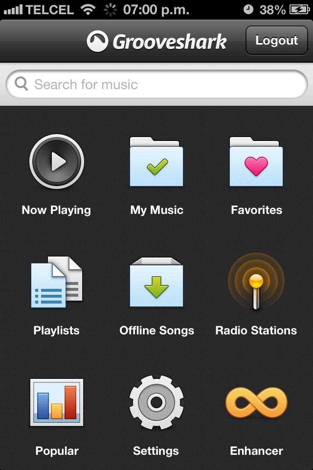Grooveshark 2.6.6-01