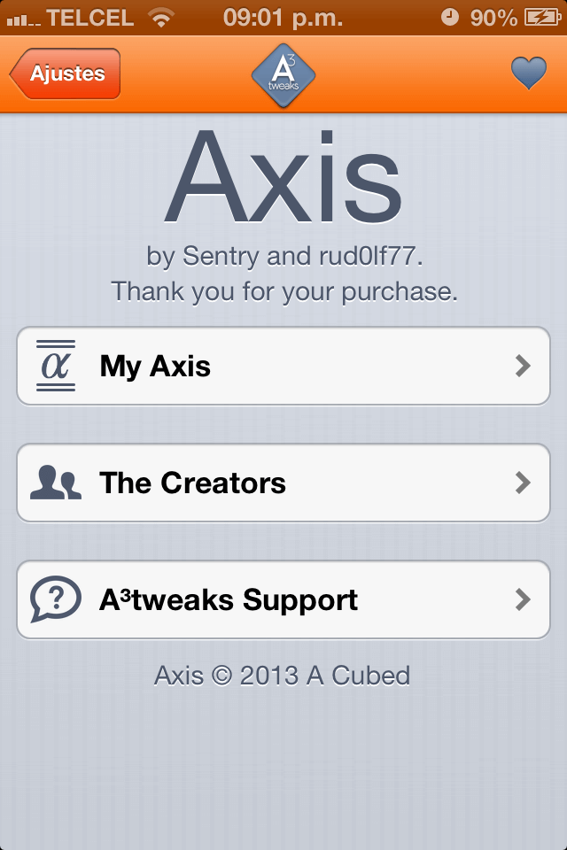 Axis 1.0.1-10-01