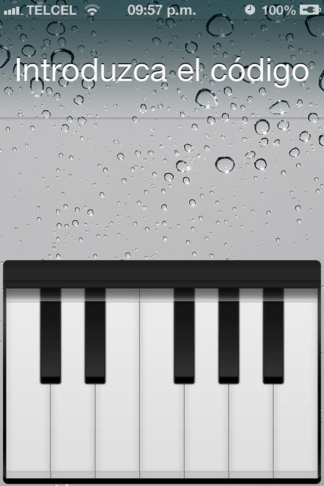 Piano Passcode 1.0-1-004
