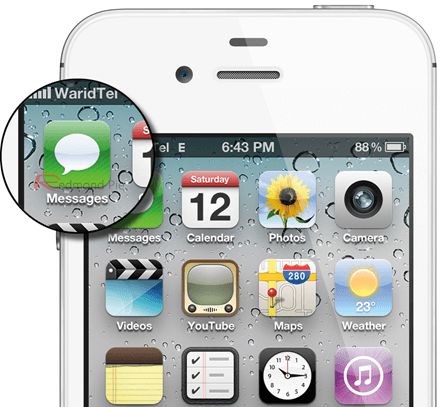 iPhone-iMessage