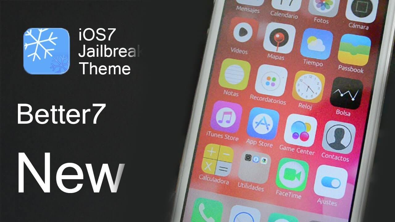 Better7 – Excelente tema para iOS 7