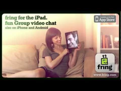 Fring estrena versión para iPad, permite videollamadas en grupo