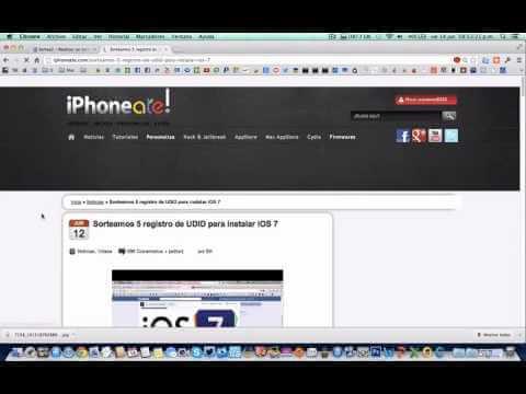 Ganadores del Sorteo 5 registro de UDID para instalar iOS 7″