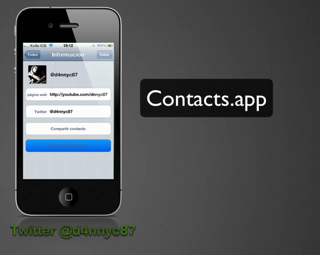 Homescreen Contacts 1.0.3