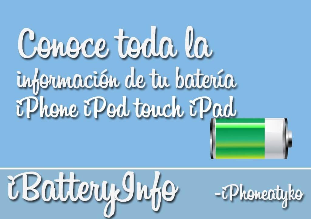 iBatteryInfo – Conoce todas las propiedades de tu batería