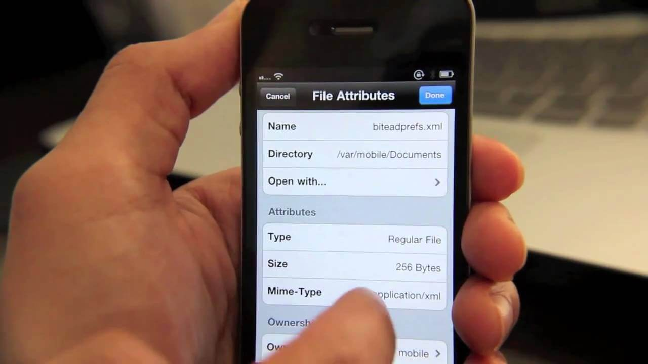 iFile 1.6.1-2 para iPhone iPad & iPod Touch (Actualizacion)