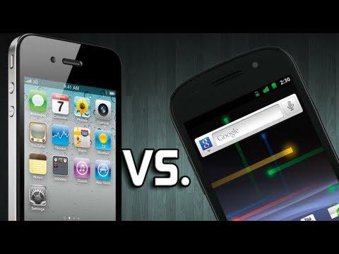 iPhone 4S vs Google Nexus S.