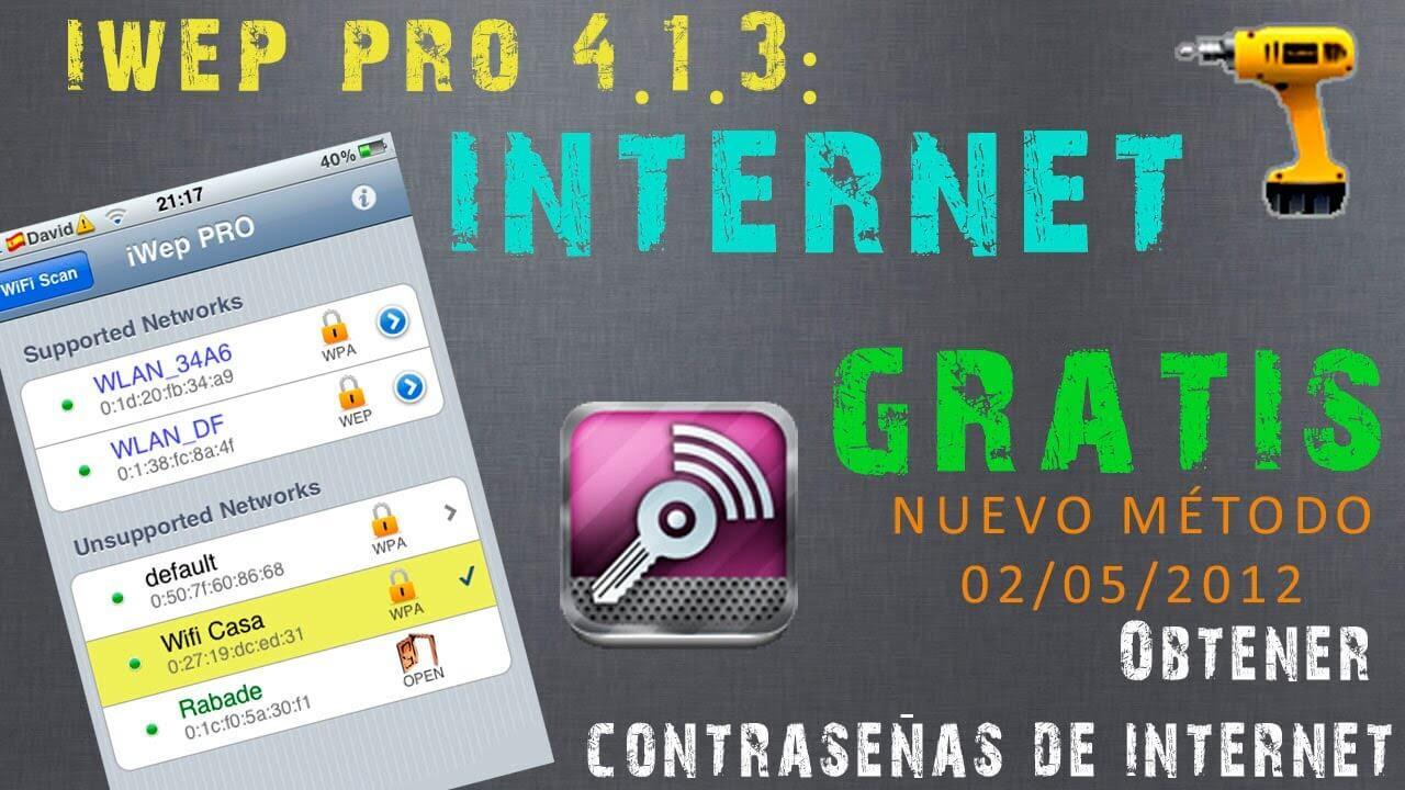 iWep Pro 4.1.2. Compatible para todos los iOS. Resuelve problemas con iOS 5.