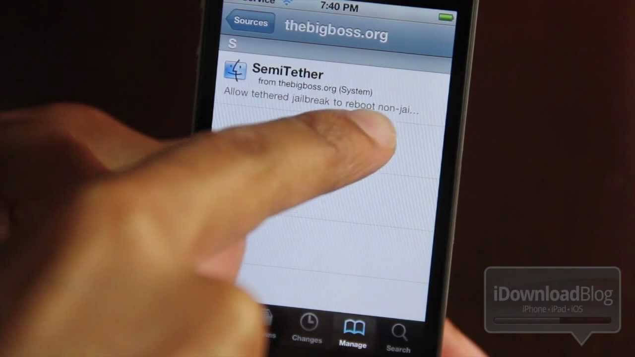 Jailbreak Semitethered para iOS 5
