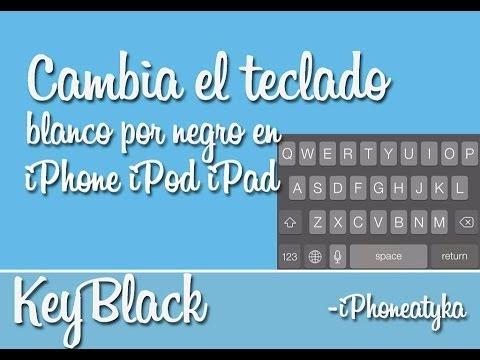 KeyBlack – Pon el teclado de tu dispositivo en color negro