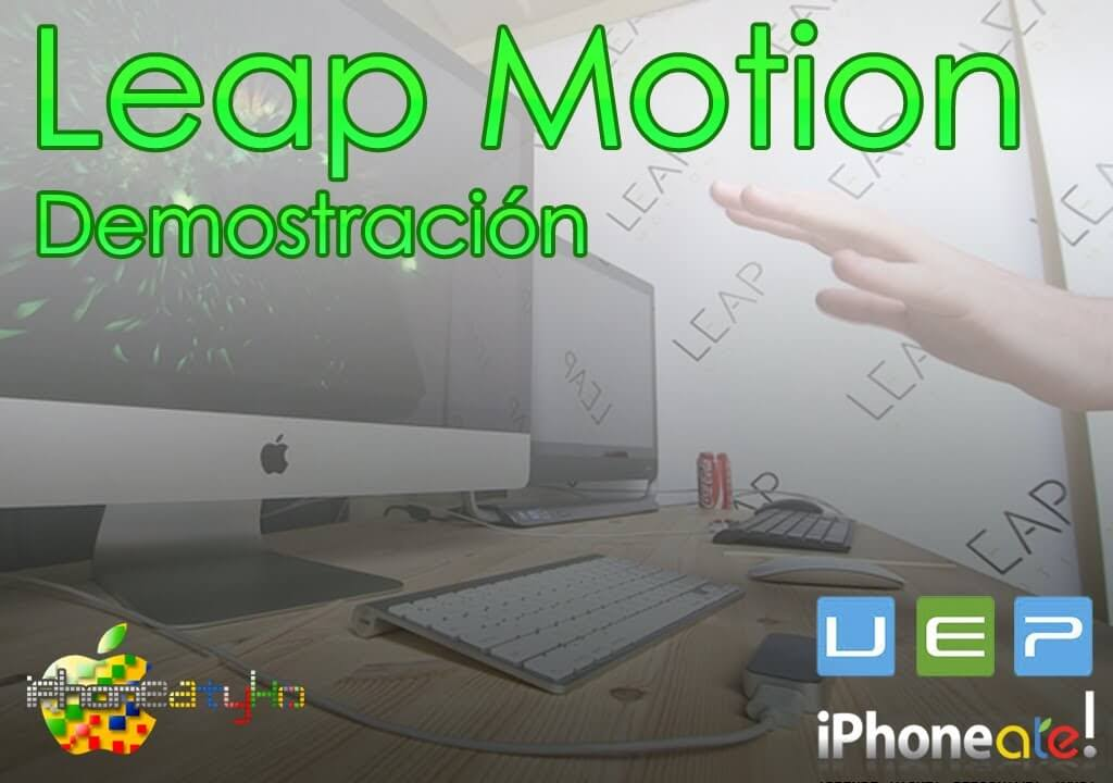 Leap Motion – Demostración