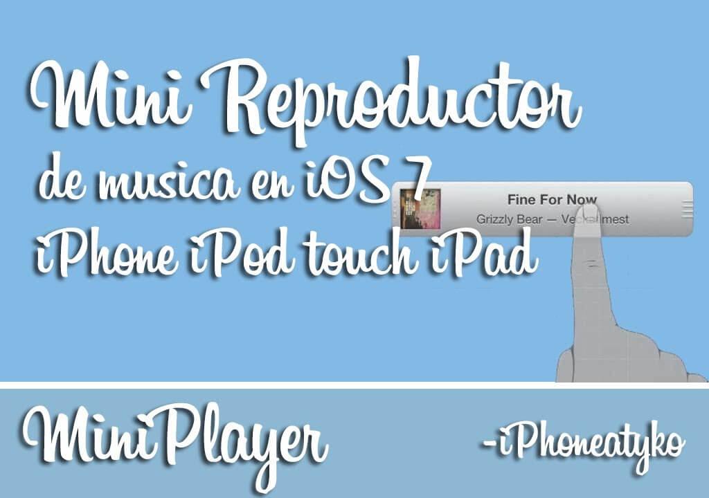MiniPlayer – Un mini reproductor en nuestro springboard