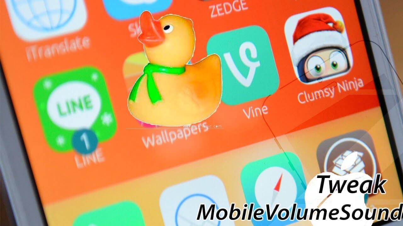 MobileVolumeSound – Sonido de Mac al Subir el Volumen