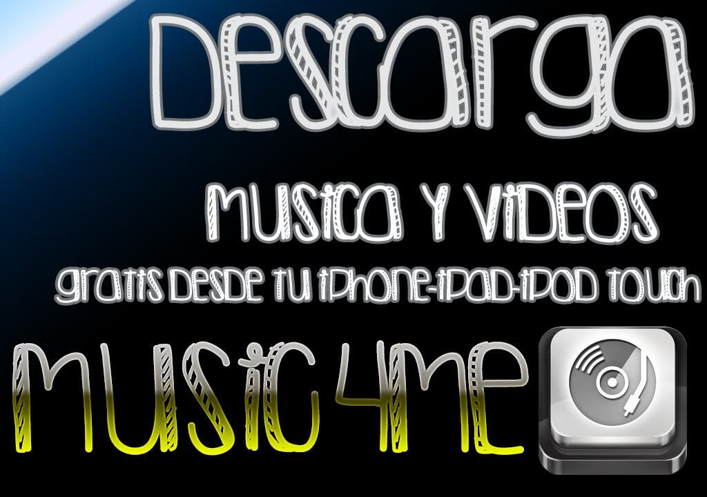 Music4Me – Descarga musica y videos desde iPhone/iPod/iPad