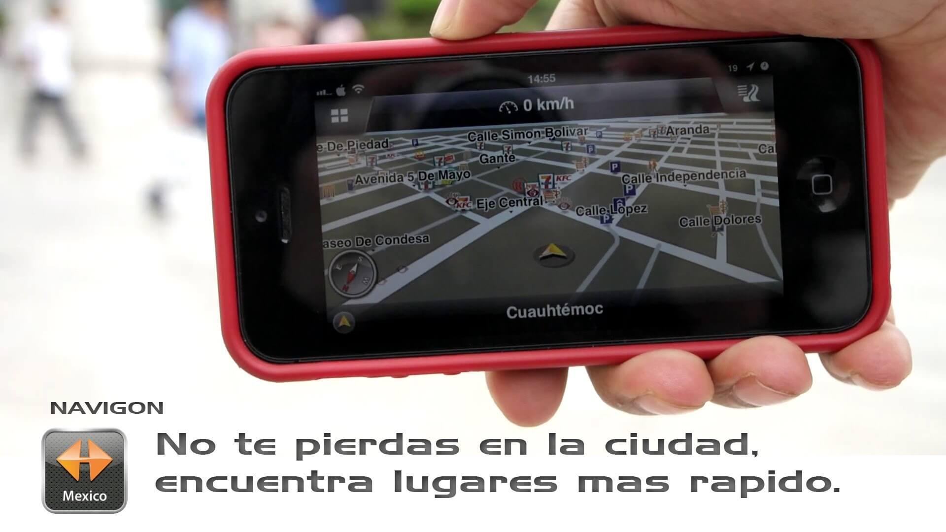 Navigon 2.6: No te vuelvas a perder en las ciudades con esta app GPS offline.
