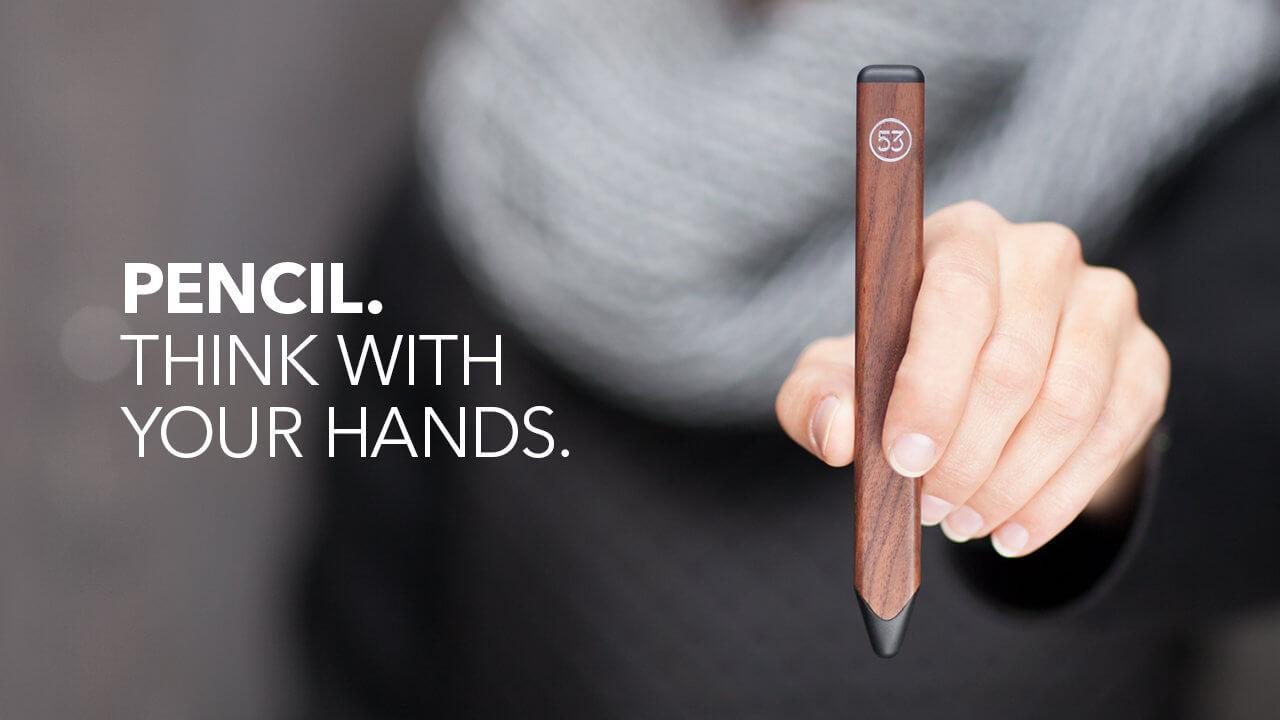Presentan nuevo Pencil Stylus para aplicación Paper