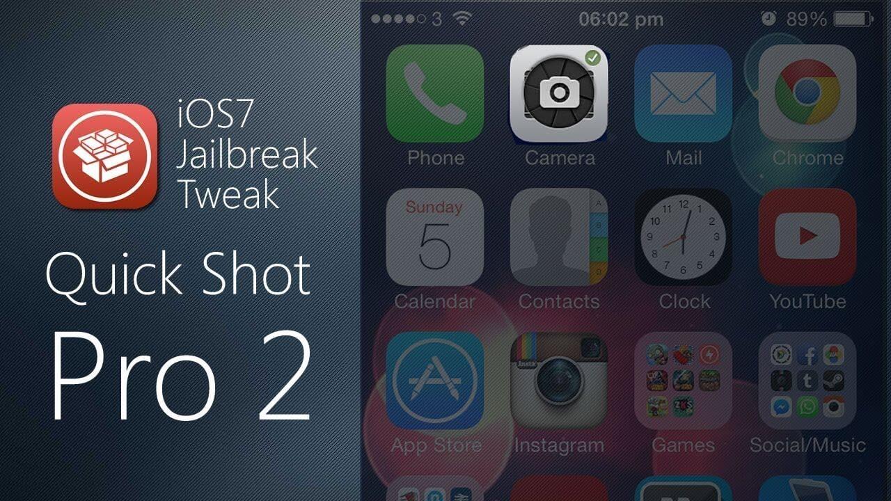 QuckShoot Pro 2 – Graba y Toma fotos en el Springboard