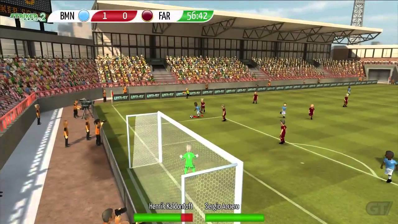 Striker Soccer 2 disponible en la App Store