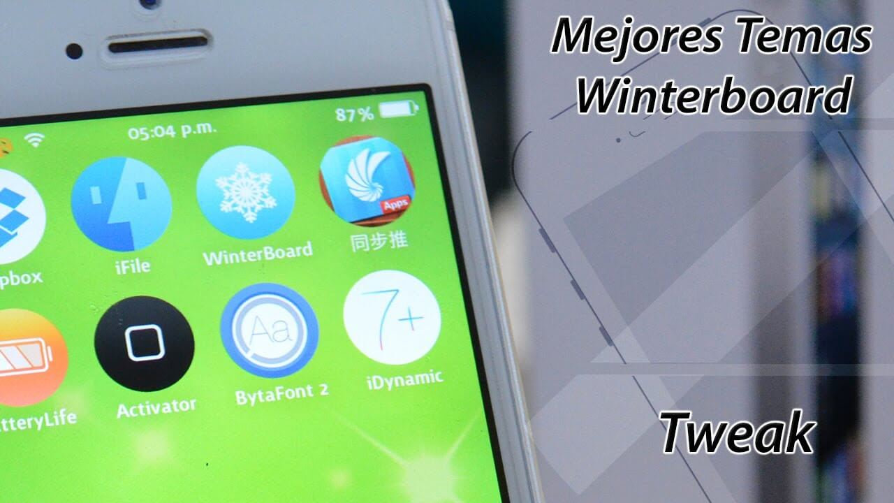 Temas de Winterboard Para iPhone iPod iPad
