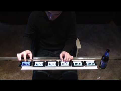 Tocando el piano con 6 iPhones (Vídeo)