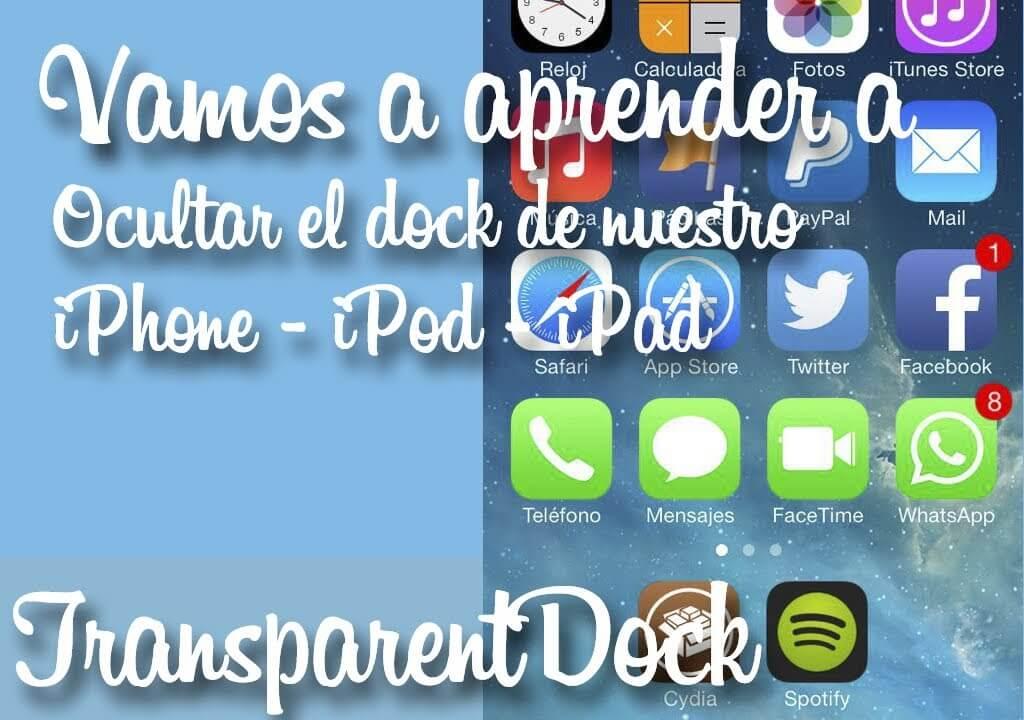 TransparentDock – Elimina el dock del springboard