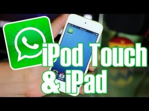 Tutorial: Como Instalar Whatsapp en Ipod/Ipad sin Jailbreak