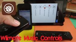 Wiimote Music Controls