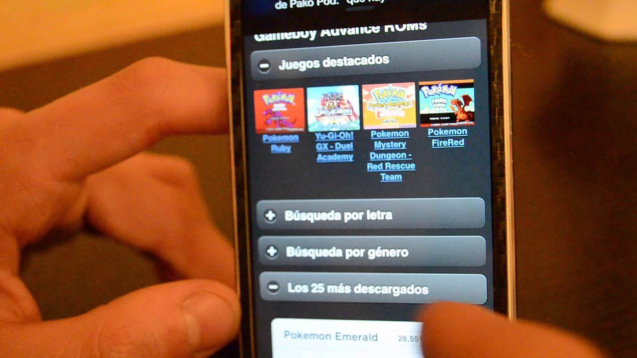 GPSPhone – Emulador GameBoy Advance en iOS 7