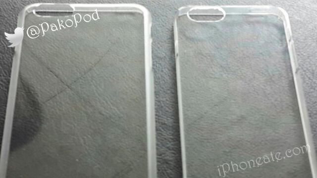 Carcasas que confirmarían iPhones de 4.7 y 5.5 pulgadas