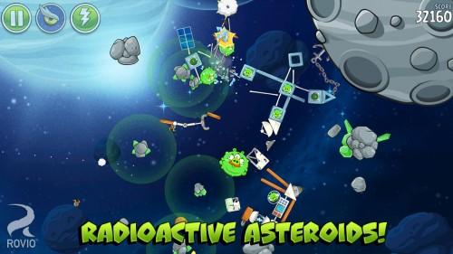 Angry Birds Space nueva actualización 1