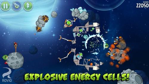 Angry Birds Space nueva actualización 2
