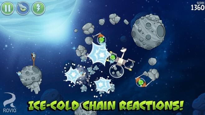 Angry Birds Space nueva actualización