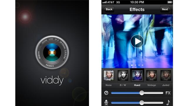 Viddy nueva interfaz para iphone