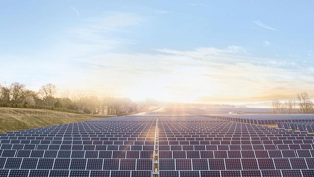 Apple, granja solar