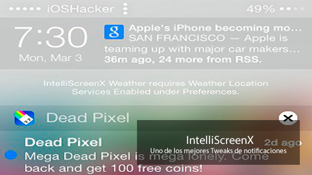 IntelliScreenX