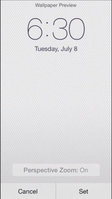iOS 8 beta 3, fondo nuevo