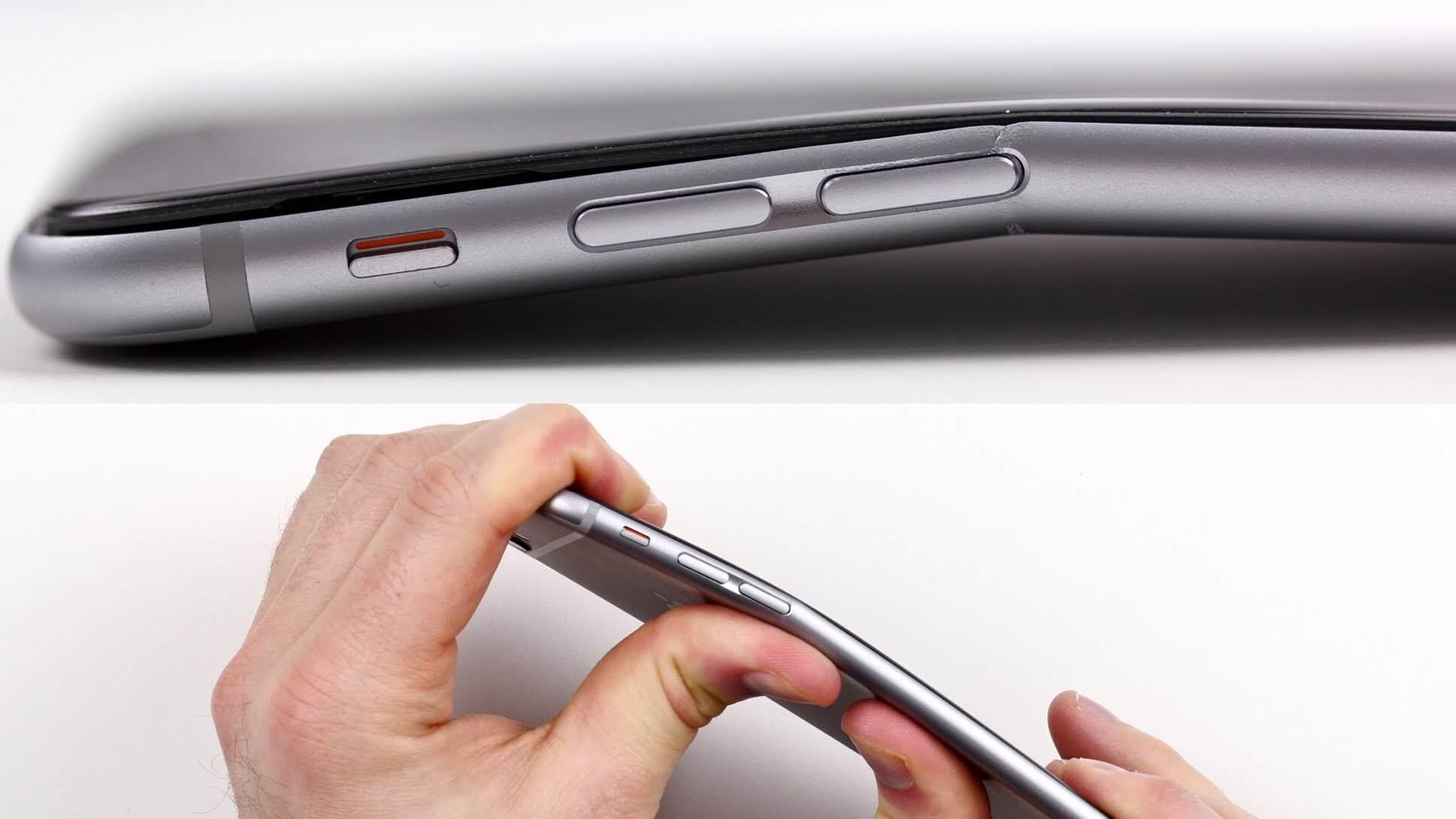 Atención: El iPhone 6 Plus puede fácilmente doblarse con sus manos