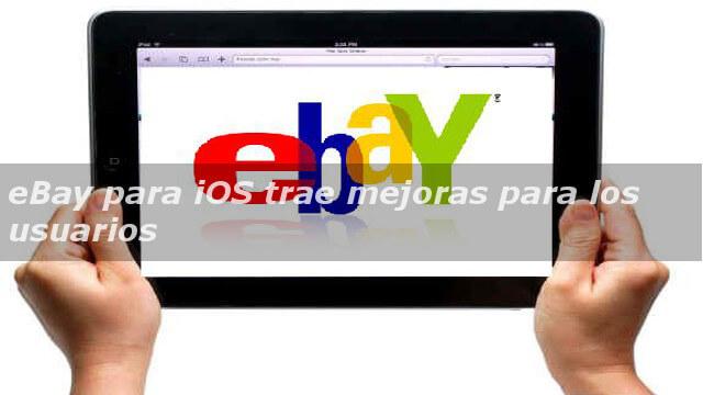 eBay para iOS
