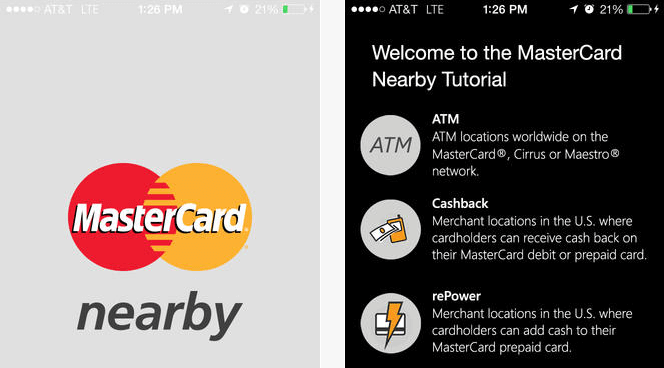 MasterCard Nearby on the App Store on iTunes