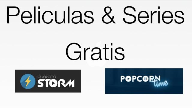 Popcorn Time: Ver películas y series